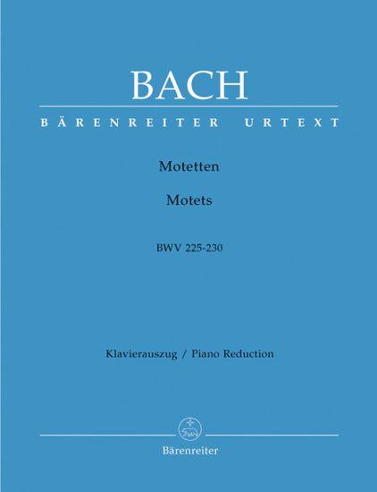 BACH J.S.:MOTETTEN/MOTETS BWV 225-230 VOCAL SCORE